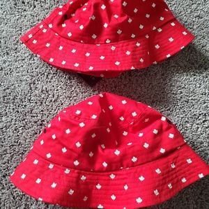 Canadian Maple Leaf Bucket Hats